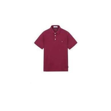 Stone Island 20514 Polo Shirt Plum