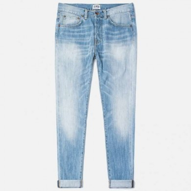Edwin ED-80 Slim Tapered Jeans CS Power Blue Denim  L32