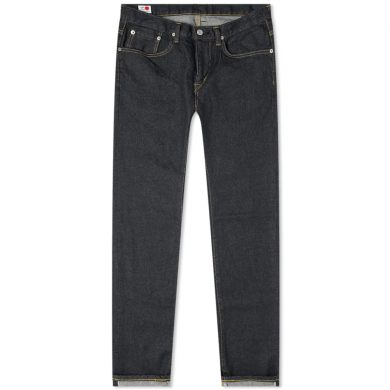 Edwin Regular Tapered Jeans - Made in Japan - Blue Raw State L32
