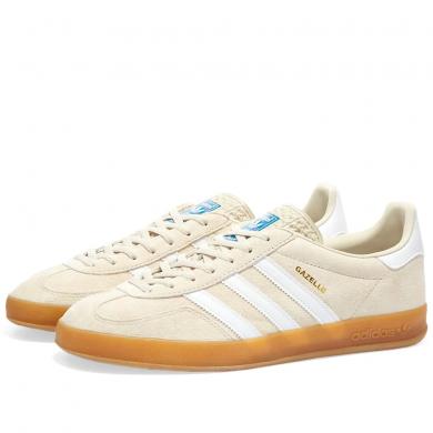 Adidas Gazelle Indoor Clear Brown, White & Gum