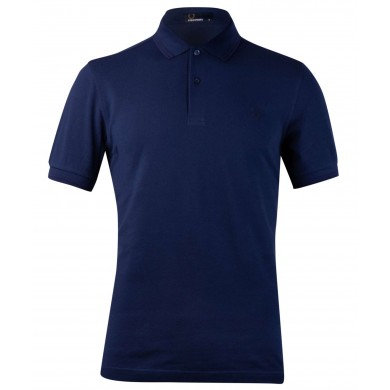 Fred Perry Slim Fit Twin Tipped Polo French Navy
