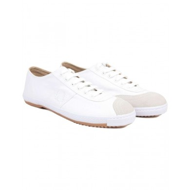 Fred Perry Reissues Table Tennis Canvas Shoe White