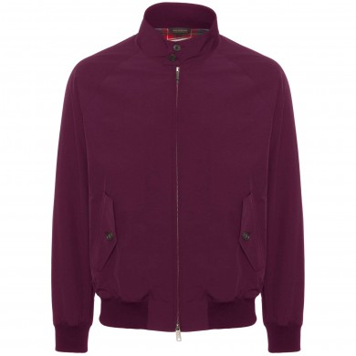 Baracuta G9 Harrington Jacket Plum