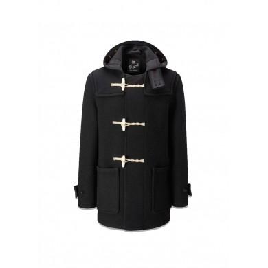 Gloverall Original Mid Monty Duffle Coat Black