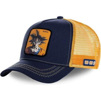 Capslab Trucker Cap Dragon Ball Z Goku Navy & Orange