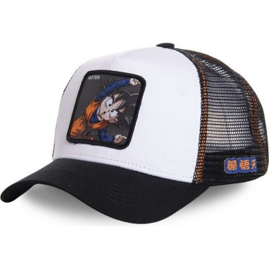 Capslab Trucker Cap Dragon Ball Z Goten Fusion White