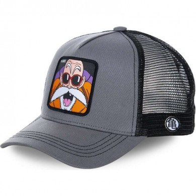 Capslab Trucker Cap Dragon Ball Z Master Roshi KAM Grey