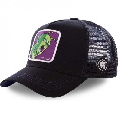 Capslab Trucker Cap Dragon Ball Z Piccolo Black