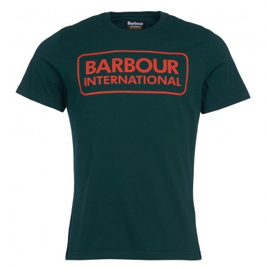 Barbour International Graphic Tee Seaweed