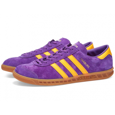 Adidas Hamburg Purple & Gold