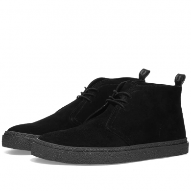 Fred Perry Hawley Boot Suede Black