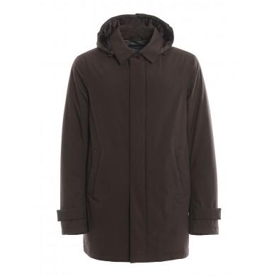 Herno Laminar 2 Layer Carcoat Brown