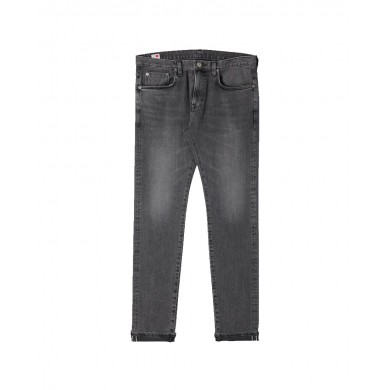 Edwin Slim Tapered Jeans - Made in Japan - Black Gray Used L32