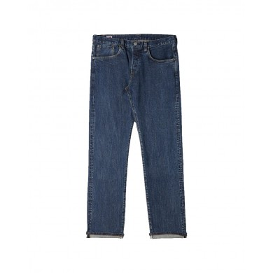 Edwin Regular Tapered Jeans - Made in Japan - Blue Even Wash Mid L32