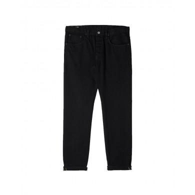 Edwin Regular Tapered Jeans - Made in Japan - Black Rinsed L32