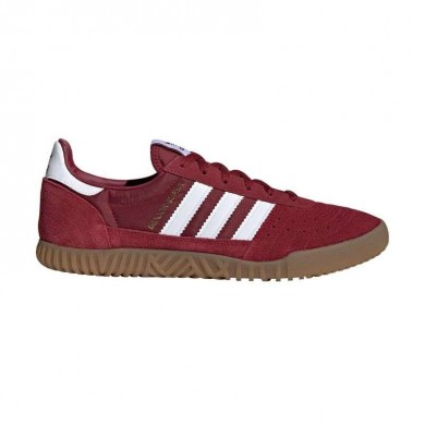 Adidas Indoor Super Collegiate Burgundy & White