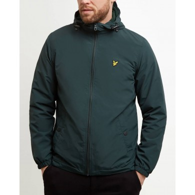 Lyle & Scott Microfleece Lined Zip Through Jacket Jade Green