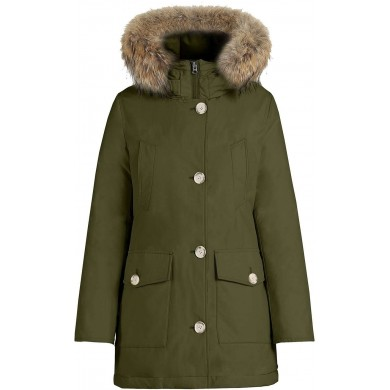 Woolrich W´s Arctic Parka High Collar Dark Green