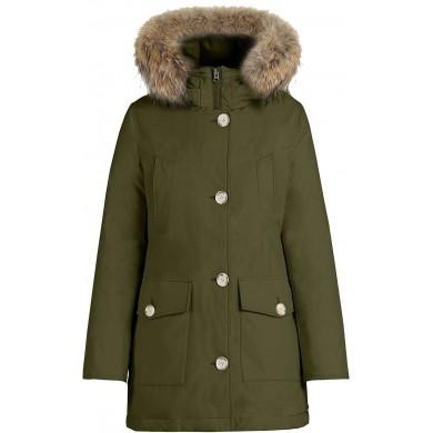 Woolrich W´s Arctic Parka High Collar Dark Green