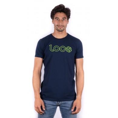 Loco Marco Lenders Tee Navy & Green