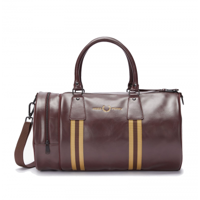 Fred Perry Classic Refined Webbing Barrel Bag Port