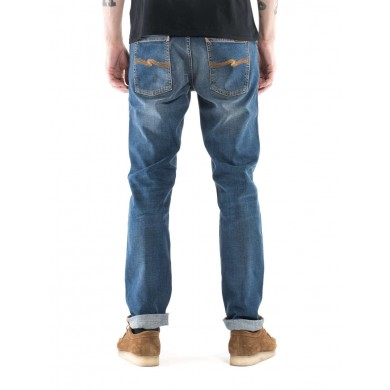 Nudie Jeans Lean Dean Bay Blue L32