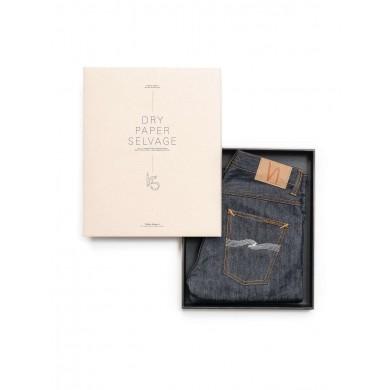 "Nudie Jeans Grim Tim Dry Paper Denim Selvage ""Indigo Bloodline"" L32"