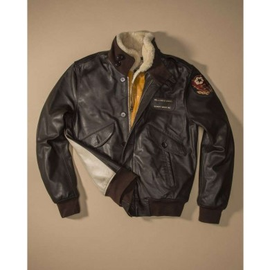 Schott NYC Limited Edition Flight Jacket Type A.0 LMAZERO Black