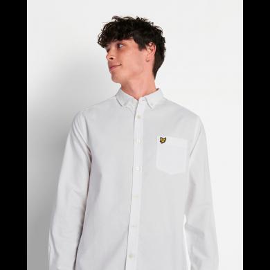 Lyle & Scott Regular Fit Light Weight Oxford Shirt White