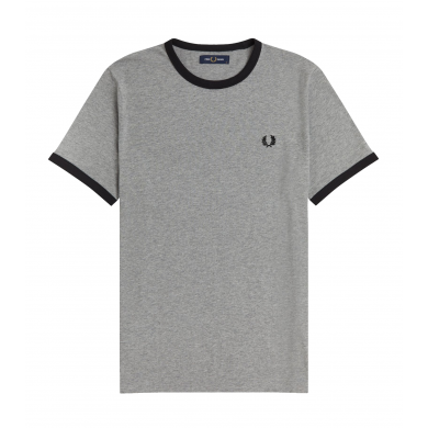 Fred Perry Ringer Tee Steel Marl