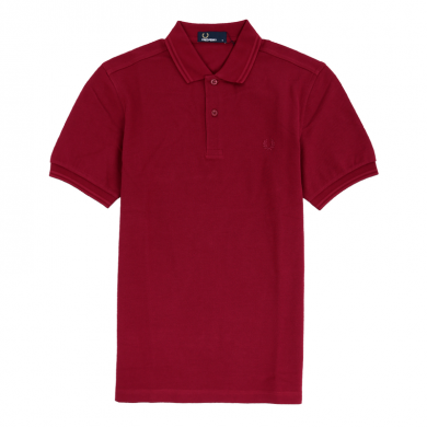 Fred Perry Slim Fit Twin Tipped Polo Tawny Port