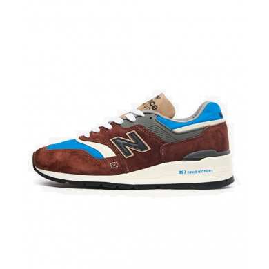 New Balance M997SOE - Made in USA Brown & Blue