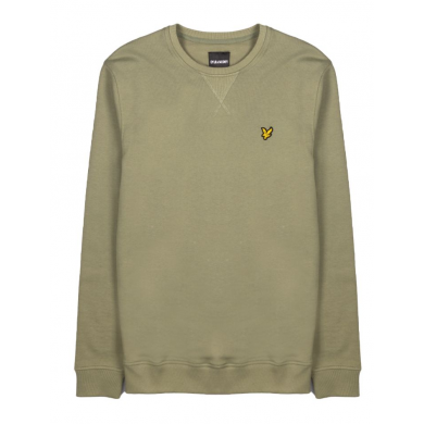 Lyle & Scott Crew Neck Sweatshirt Moss