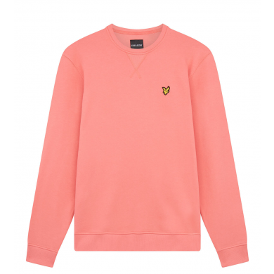 Lyle & Scott Crew Neck Sweatshirt Punch Pink