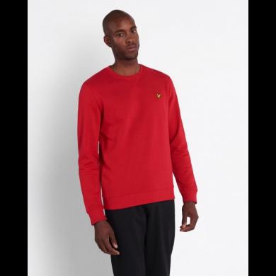 Lyle & Scott Crew Neck Sweatshirt Chilli Pepper Red