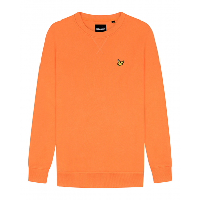 Lyle & Scott Crew Neck Sweatshirt Orange