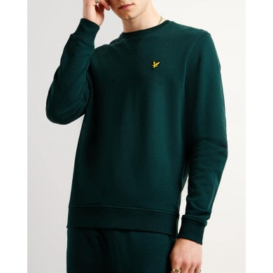 Lyle & Scott Crew Neck Sweatshirt Jade Green