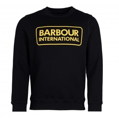 Barbour International Large Logo Sweatshirt Black