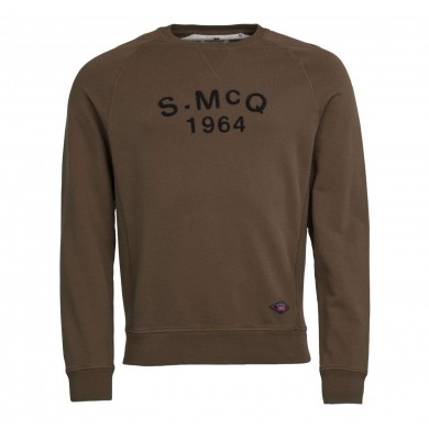 Barbour International Steve McQueen Raceway Sweatshirt Olive