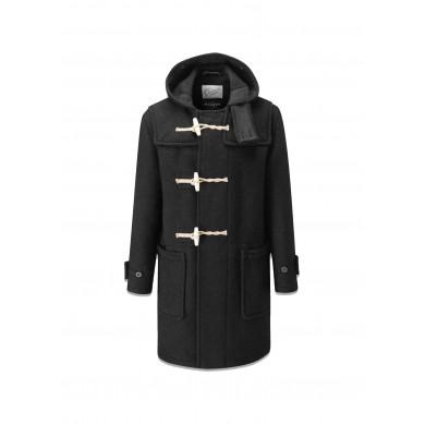Gloverall Original Monty Duffle Coat Black