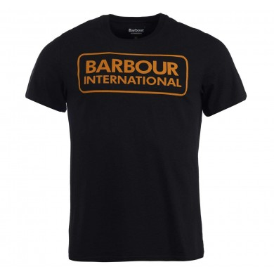 Barbour International Graphic Tee Black