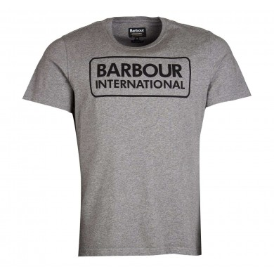 Barbour International Graphic Tee Anthracite