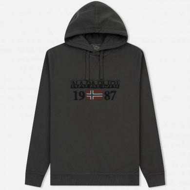 Napapijri Berthow Hood Dark Grey