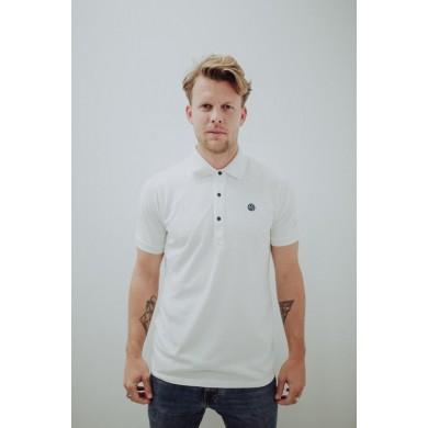 Loco Piqué Polo Shirt White
