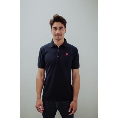 Loco Piqué Polo Shirt Navy