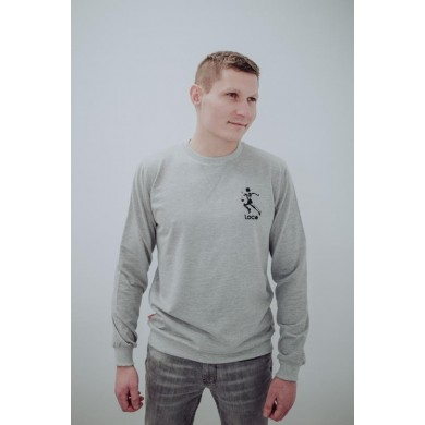 "Loco Legend ""El Pelusa"" Sweatshirt Grey"