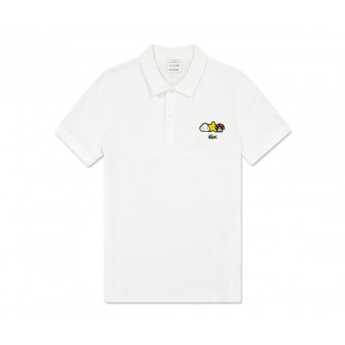 Lacoste x Friends With You Polo Shirt White