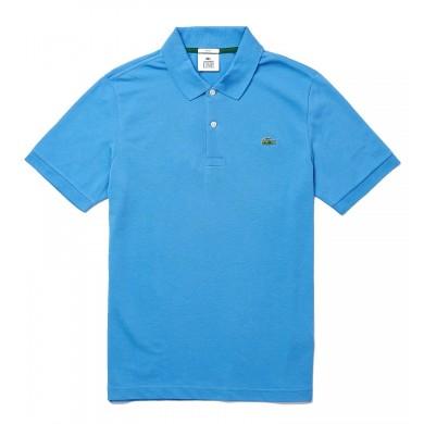 Lacoste Standard Fit Stretch Cotton Piqué Polo Shirt Light Blue
