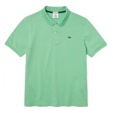 Lacoste Standard Fit Stretch Cotton Piqué Polo Shirt Light Green