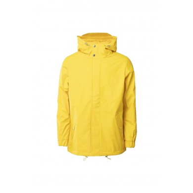 Rains Quilted Parka Yellow